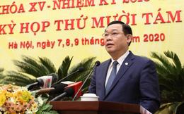 Bí thư  Vương Đình Huệ nói về việc bầu Chủ tịch HĐND và 5 Phó Chủ tịch UBND TP Hà Nội