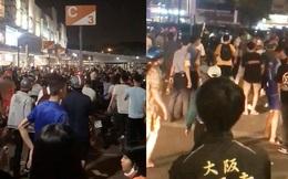Công an nổ súng trấn áp vụ hỗn chiến tại trung tâm thương mại ở Sài Gòn