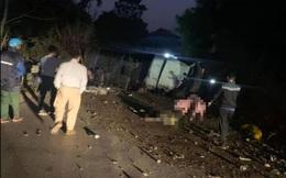 Hai cha con tử vong thương tâm ở chân đèo Gió sau tai nạn với xe tải