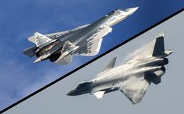 Tiêm kích Su-57 của Nga so kè J-20 Trung Quốc