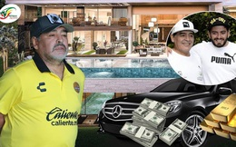 Con trai Maradona nói về chuyện thừa kế khối tài sản 100 triệu USD