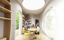 Căn nhà nổi này có thể được in 3D trong 48 giờ và được thiết kế để tồn tại 100 năm