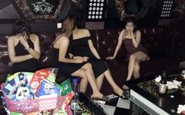 14 'hot girl' cùng bạn trai bay lắc trong quán karaoke