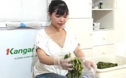 Bán rau sắn muối chua, chị em Hà thành kiếm hơn chục triệu đồng mỗi tháng