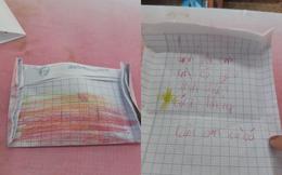 Bắt được phong bì của học sinh, cô giáo truy tìm danh tính ngay lập tức bởi nội dung viết trong đó