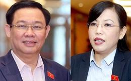Bí thư Hà Nội Vương Đình Huệ được Quốc hội phê chuẩn miễn nhiệm Phó Thủ tướng