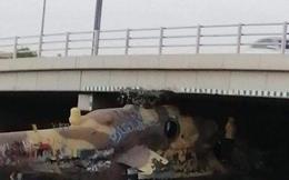 """Trực thăng tấn công Mi-35 chui gầm cầu: """"Xe tăng bay"""" gặp thảm họa hy hữu ở Libya!"""
