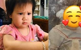 """Bị đổ tại """"khó ở"""" lúc bầu nên sinh con ra mặt cau có, mẹ trẻ được minh oan sau khi tìm thấy bức ảnh ngày bé của chồng"""