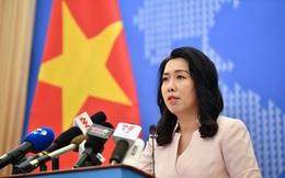 Việt Nam trả lời thông tin Trung Quốc đang đặt cáp ngầm ở quần đảo Hoàng Sa