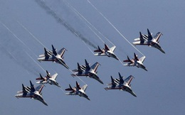 Các đơn vị quân đội, máy bay Nga diễn tập chung cho Ngày Chiến thắng