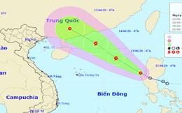 Áp thấp nhiệt đới vào Biển Đông, mạnh lên thành bão