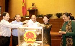 5 Ủy viên Bộ Chính trị được Quốc hội bầu làm Phó Chủ tịch và Ủy viên Hội đồng bầu cử quốc gia