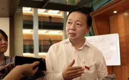 Bộ trưởng TN-MT Trần Hồng Hà giải thích việc dự tính thu phí rác sinh hoạt theo kg