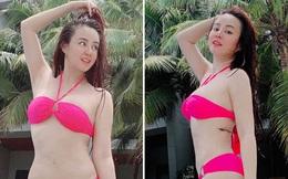 Vy Oanh diện bikini, khoe vẻ gợi cảm ở tuổi 35