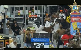"""Mỹ: Hàng trăm người lao vào đập phá siêu thị, cướp đồ tự nhiên """"như chốn không người"""""""