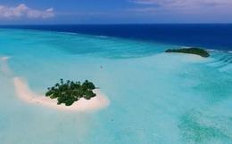 Hòn đảo nghỉ dưỡng tuyệt đẹp hình thành từ phân cá