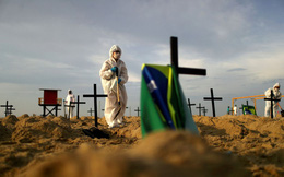 Vượt Anh, Brazil trở thành vùng dịch COVID-19 lớn thứ 2 thế giới