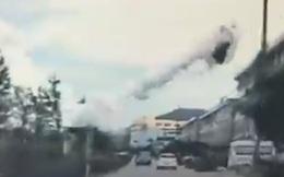 Trên 110 người bị thương trong vụ nổ xe bồn ở Trung Quốc
