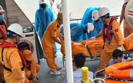 Tìm thấy 4 thi thể trên tàu cá bị đắm sau va chạm ở vùng biển Hải Phòng