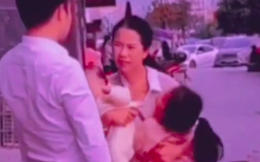 Người chồng cố tình đứng phía sau giả làm hành động kẻ xấu muốn bắt cóc cô con gái và hai kiểu phản ứng của người mẹ khiến nhiều người xúc động nhưng cũng đầy bất ngờ