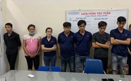 """Công an huyện Nhơn Trạch bắt quả tang 2 ổ bạc với gần 20 """"con bạc"""""""