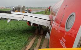 Máy bay Vietjet lao ra khỏi đường băng: Trước khi gặp sự cố, máy bay tiếp cận đường băng bình thường