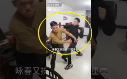 """Vừa hạ môn đồ Vịnh Xuân, võ sĩ Muay Thái lại đòi đánh cả 2 thầy trò """"truyền nhân Diệp Vấn"""""""