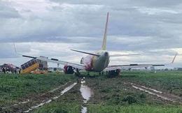 """Bộ trưởng Nguyễn Văn Thể: Máy bay Vietjet trượt khỏi đường băng Tân Sơn Nhất """"lỗi lớn ở phi công"""""""