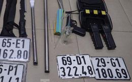 Phát hiện ma túy và nhiều vũ khí trong căn nhà ở Bình Dương