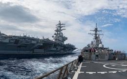 Vì sao Mỹ điều cùng lúc 3 hàng không mẫu hạm tuần tra Thái Bình Dương?