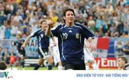 Ngày này năm xưa: Messi ghi bàn đầu tiên ở World Cup