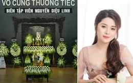 Tang lễ MC VTV qua đời ở tuổi 29: BTV Quang Minh, Long Vũ viết những lời tiễn biệt cuối cùng đầy xót xa