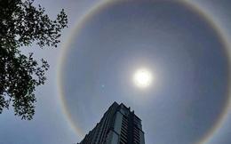 Người dân Sài Gòn, Vũng Tàu và nhiều tỉnh thành thích thú chụp lại hiện tượng quầng sáng bao quanh mặt trời