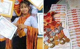 Nữ sinh đua trend với hàng loạt giấy khen, huy chương nhưng thành tích thực còn choáng váng hơn
