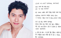 """HOT: Hyun Bin viết thư tay cho fan bày tỏ lập trường rõ ràng sau loạt tin đồn """"tái hợp"""" Song Hye Kyo và yêu đương với Son Ye Jin"""