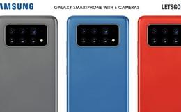 Samsung đệ trình bằng sáng chế smartphone với 6 camera chính có thể dịch chuyển