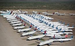 Những phi công chật vật mưu sinh vì một nửa máy bay trên thế giới phải xếp xó