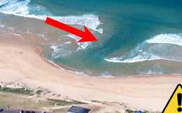 Cảnh báo về dòng chảy xa bờ mới xuất hiện ở Việt Nam - mối nguy hại đến mạng người không thể coi nhẹ khi đi biển mùa hè này