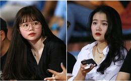 Bạn gái Quang Hải và Văn Hậu buồn thiu nhìn Hà Nội FC thua trận