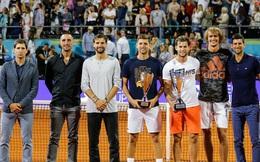 """""""Tiểu Federer"""" mắc Covid-19, giải quần vợt của Djokovic bị hủy bỏ"""