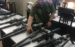 Đường dây nhập lậu hàng trăm linh kiện súng săn từ Trung Quốc