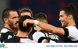Tường thuật Bologna 0-2 Juventus: Vòng 27 Serie A 2019/2020