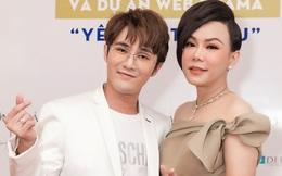 Việt Hương tự tin diện váy hở vai ở tuổi 44