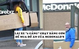 McDonald's chỉ phục vụ khách đi ô tô trong mùa dịch, người người thi nhau lái xe 'rởm' xếp hàng để mua đồ ăn