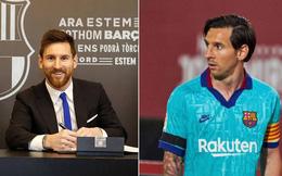Lionel Messi cài điều khoản đặc biệt trong hợp đồng mới với Barcelona