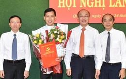 Thành ủy TPHCM trao quyết định về công tác nhân sự