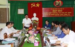 Vĩnh Long: Cảnh cáo nguyên Viện trưởng VKSND huyện Vũng Liêm