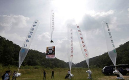 Quan hệ liên Triều căng thẳng, Triều Tiên tiến hành chiến dịch thả truyền đơn lớn nhất trong lịch sử