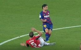 Barcelona thắng nhọc, HLV Setien lơ chuyện Messi thoát thẻ đỏ