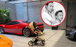 """Cường Đô La khoe chiếc """"siêu xe"""" đầu tiên dành tặng con đầu lòng giữa anh và Đàm Thu Trang"""